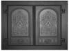 Дверка каминная краш ДК-6 410х410 (Руб)